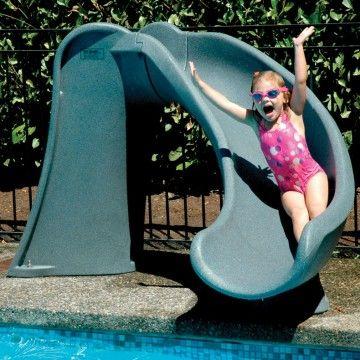 Inground Pool Slides Supplies, Portable Water Slide For Inground Pool