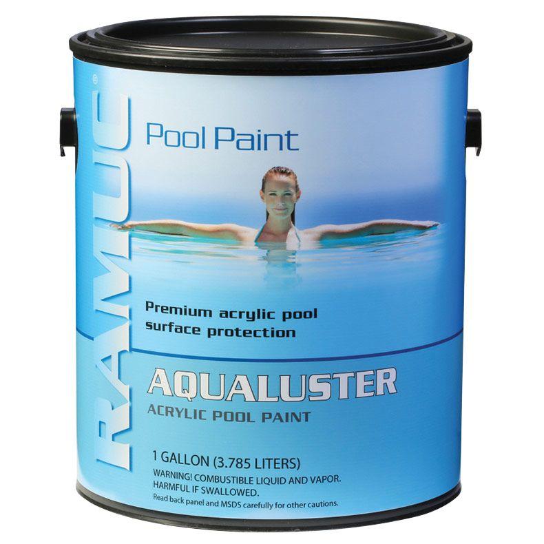 Ramuc 9206032805 Aqualuster Acrylic Pool Paint 5 Gallons