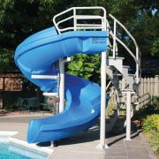 Inground Pool Slides Supplies, Are There Slides For Above Ground Pools